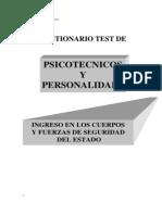 Test de Psicotécnicos y Personalidad