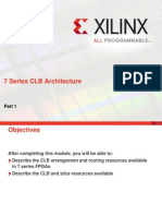 7 Series Clb Architecture .