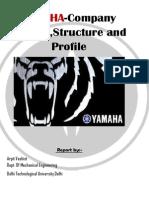 Yamaha Company Profile-Arpit