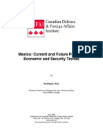 Mexico Current and Future Political, Economic and Security Trends