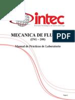 Manual de Laboratorio de Mecanica de Fluidos A