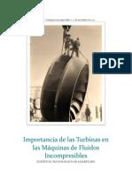 Importancia de Las Turbinas en Las Máquinas de Fluidos Incompresibles
