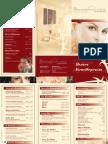 Preisliste Flyer Parfümerie am Großen Burstah