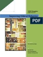 White Paper Improving Ethical Behavior