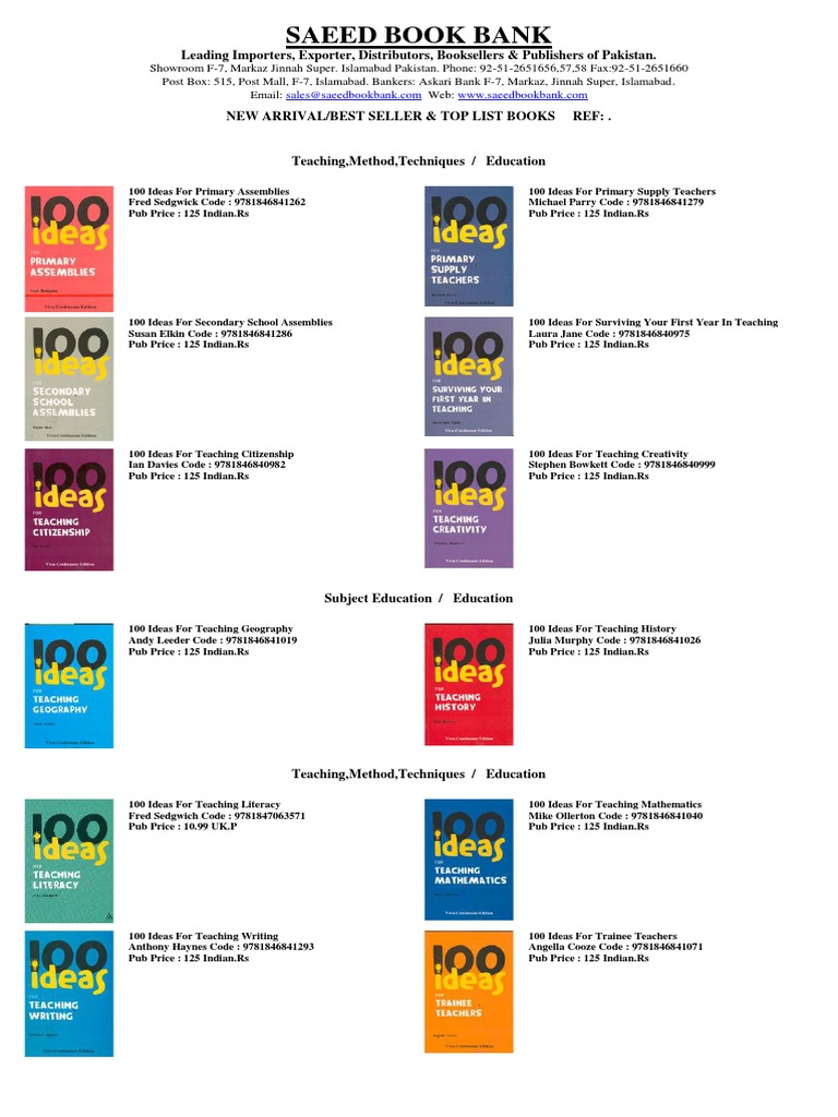 Powerpoints for teachers