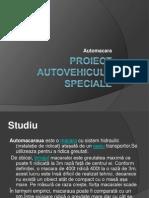 Proiect Autovehicule Speciale