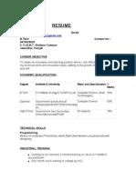 Satwinder Resume