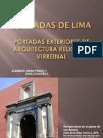 Portadas de Lima