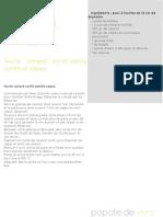 tourte canard confit-salsifis-cèpes