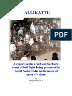 JALLIKATTU-REPORT
