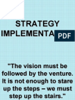 8. Strategy Implementation