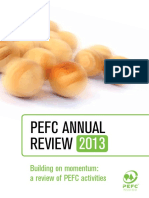 PEFC 2013 Annual Review