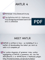 Antlr 4 guide to help u learn