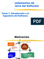 Tema 1 Introduccion a La Ingenieria Del Software