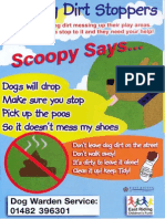 ERYC - Children's Dog Fouling Poster