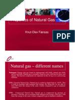 Properties of Natural Gas EU