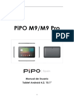 Manual de Usuario PiPO M9-M9Pro