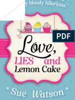 Love Lies and Lemon Cake - Chapter One - FREE