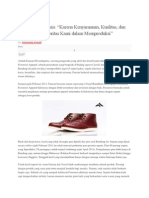 Foremost, Sepatu Unik Berfootprint Aksara Sunda