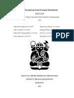 Makalah PPKN Kelompok 15 - Pemberantasan Kasus Korupsi Di Indonesia