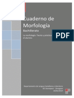 000- Cuaderno de Morfología-bachillerato