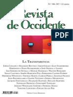 RdO 386-387 Trasparencia