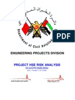Project HSE Risk Analysis