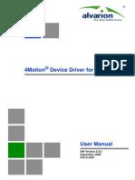 AlvariSTAR 4Motion Device Manager Ver.2.5.2 User Manual 090909