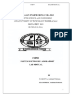 CS2308 SS Lab Manual