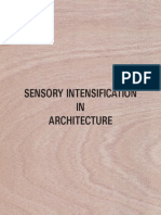 9025050 Sensory Intensification in Architecture by Kamiel Van Kreij