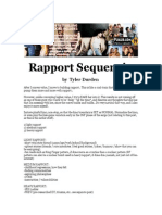 Tyler Durden - Rapport Sequencing