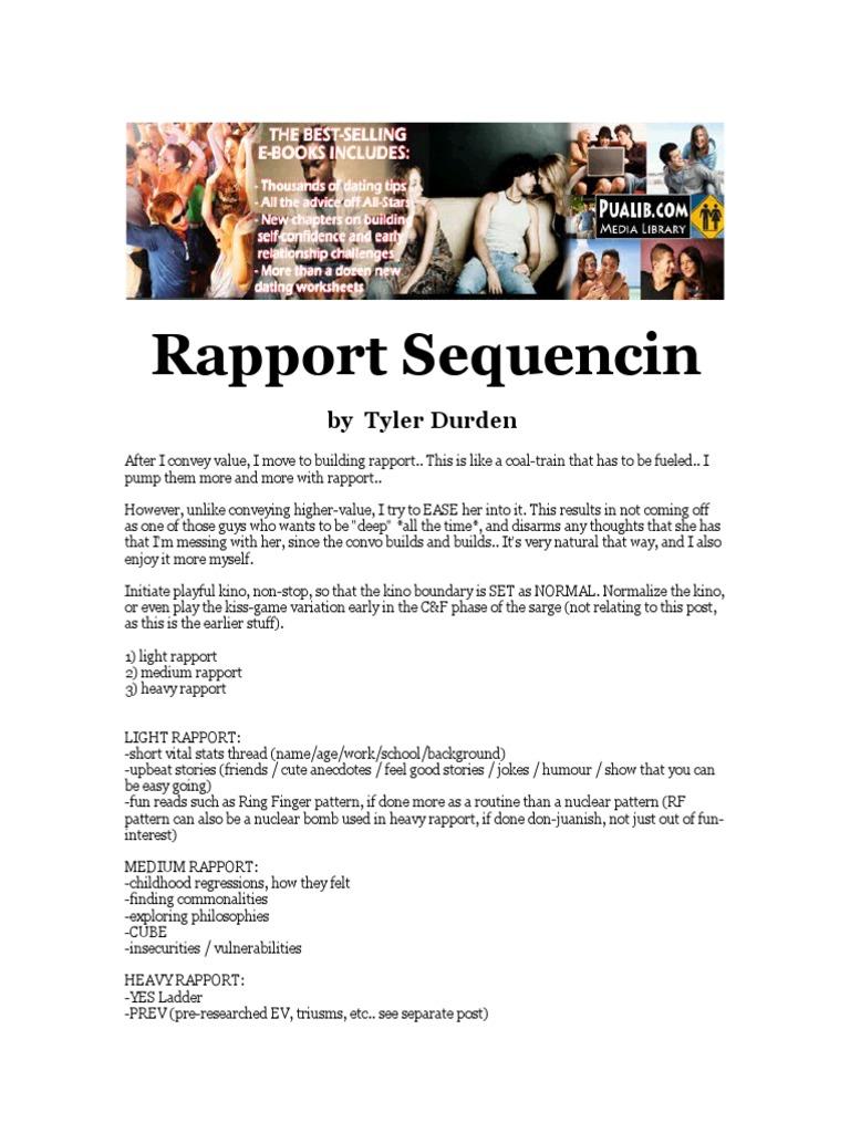 Tyler durden rapport sequencing psychological concepts tyler durden rapport sequencing psychological concepts psychology cognitive science malvernweather Gallery