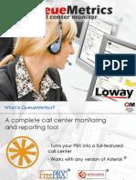 Asterisk call-center software QueueMetrics Presentation