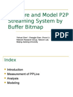 Measure and Model P2P Streaming System by Buffer Bitmap