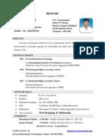 Narayanan Resume June 2014