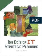 Do's of It Strategic Planning
