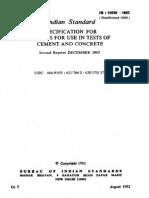 IS 10086 - 1982 (Reaff 1999)