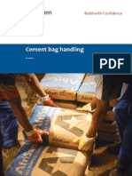 Handling Cement Bags