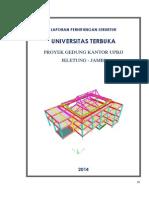 Laporan Perhitungan Struktur Ut Jambi Ok