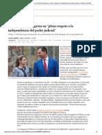 """Imputación Infanta Cristina_ La Casa Del Rey Expresa Su """"Pleno Respeto a La Independencia Del Poder Judicial"""" _ Política _ EL PAÍS"""