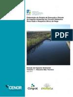 Elaboração Do Projeto de Execução e Estudo de Impacte Ambiental Do Circuito Hidráulico Roxo-Sado e Respetivo Bloco de Rega - RNT2649