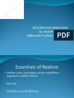 Lecture 2_Realism and Liberalism