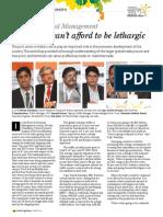 Coverage of keynote speech at 'India Maritime Week 2014'