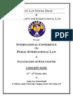 Amity ILSA Conference
