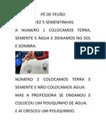 Texto Pé de Feijão