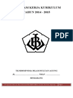 Draf Program Bidang Kurikulum 2014-2015