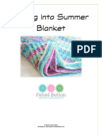 Spring Into Summer Blanket Pattern