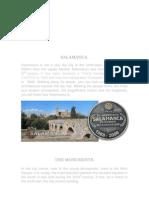 Salamanca and i.e.s. Martinez Uribarri. Spain. Spanish Educational System