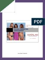 Global Marketing Managment