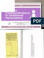 CDC - Guide to Vaccine Contraindications
